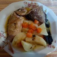 Ψάρι μπιάνκο (Κερκυραϊκή συνταγή)