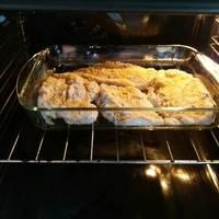 Σνίτσελ κοτόπουλο με βρώμη και σιμιγδάλι