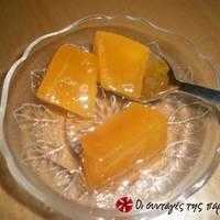 Κολοκύθα πορτοκαλί γλυκό κουταλιού