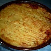 Πουρές πατάτας με κιμά στο φούρνο