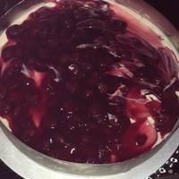 Cheesecake με μελομακάρονα