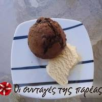 Muffins με σοκολάτα και κανέλα