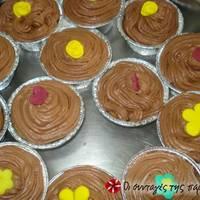 Τέλεια και εύκολα cupcakes με βουτυρόκρεμα