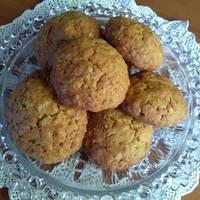 Ελαφριά μπισκότα βρώμης με άρωμα πορτοκάλι
