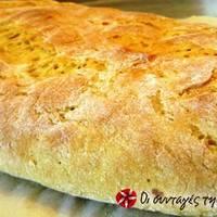 Βελούδινο ψωμί σιμιγδαλένιο