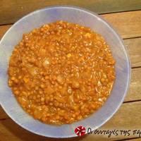 Πικάντικες φακές σούπα