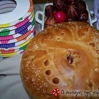 Ψωμί ζυμωτό με προζύμι