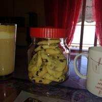 Μαλακά μπισκότα βανίλιας με κομμάτια σοκολάτας
