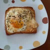 Αυγά μάτια στον φούρνο