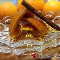 Γλυκό κουταλιού με ολόκληρο πορτοκάλι