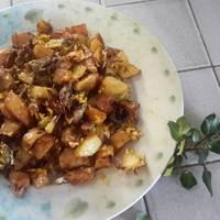 Καβουρμάς με πατάτες και αυγά