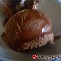 Πολύ εύκολο και γρήγορο παγωτό σοκολάτας