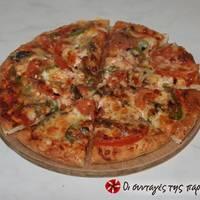Ζύμη για πίτσα αλα Kingminos