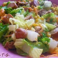 Εύκολη και χορταστική σαλάτα