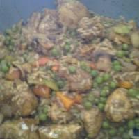 Κοτόπουλο με σάλτσα μέλι - μπαλσάμικο και λαχανικά