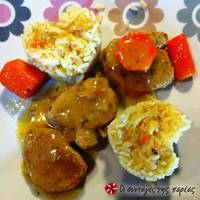 Ψαρονέφρι με μουστάρδα, μέλι και θυμάρι