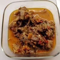 Μοσχαράκι λεμονάτο με ρύζι