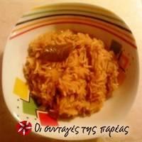 Ρύζι basmati με καραμελωμένα κρεμμύδια