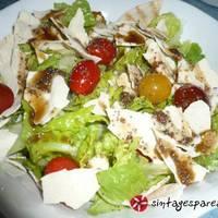 Σαλάτα πράσινη με balsamico