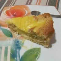 Κέικ με κρέμα λεμονιού