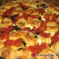 Ζύμη για αφράτη πίτσα σαν της pizza hut