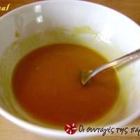 Σως μέλι - μουστάρδα