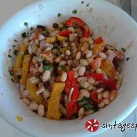 Φασόλια σαλάτα μούρλια