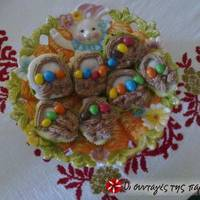Cupcakes καλαθάκια με αυγά