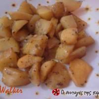 Πατάτες φούρνου με μουστάρδα