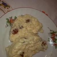 Ρυζόγαλο με λευκή σοκολάτα