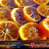 Γλυκό κουταλιού πορτοκάλι στο φούρνο