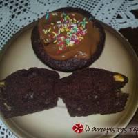 Εύκολα παιδικά σοκαλατένια muffins