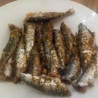 Σαρδέλες λαδορίγανη 2