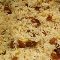 Ρύζι με σταφίδες