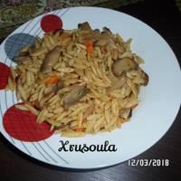 Κριθαρότο με λαχανικά