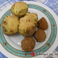 Πατάτες γεμιστές στο φούρνο