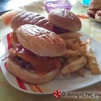 Μπιφτεκάκια χοιρινά για burger (και όχι μόνο)