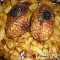 Ρολό κοτόπουλο στη γάστρα
