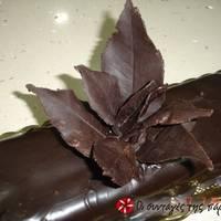 Σοκολατένια φύλλα