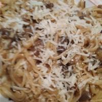 Μακαρονάδα με μανιτάρια χωρίς κρέμα, πεντανόστιμη