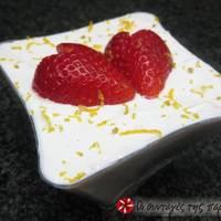 Φράουλες με γιαούρτι