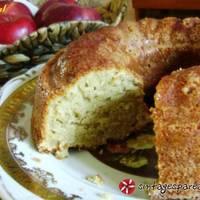 Κέικ μήλο, κανέλα, γιαούρτι