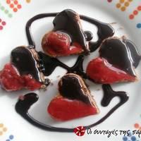 Cupcakes καρύδας με σοκολάτα και κονιάκ