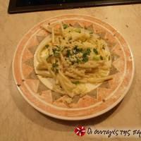 Μακαρόνια aglio olio e peperoncino