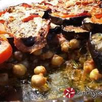 Ρεβύθια φούρνου απο την Σύμη