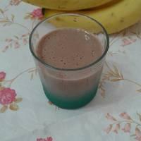 Smoothie banana θρεπτικό (γεύμα μετά από σωματική άσκηση)
