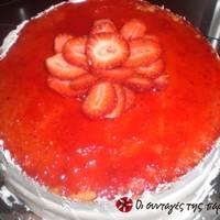 Τούρτα φράουλας