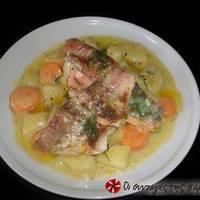 Ψάρι με λαχανικά
