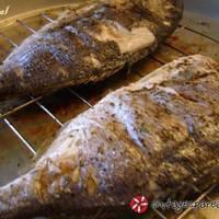 Τσιπούρες σε σχάρα φούρνου