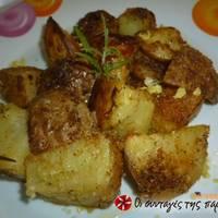 Πατάτες wedges φούρνου